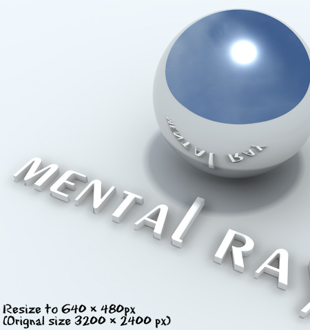 Test mentalray